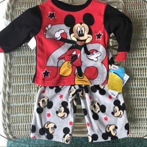 NWT Mickey Mouse Pajamas